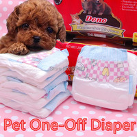 Disposable Dog Diaper Dog One Off Nappies Pet Diapers Pet Fashion Diaper