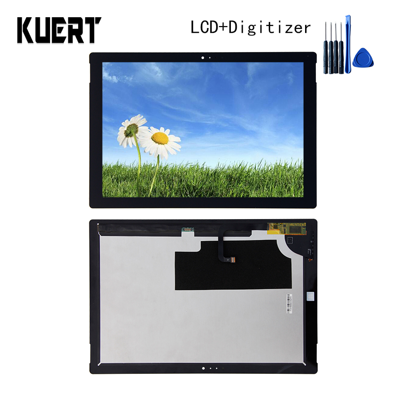все цены на Panel LCD Combo Touch Screen Digitizer Glass LCD Display Assembly For Microsoft Surface Pro 3 1631 Accessories Parts Free Tools онлайн