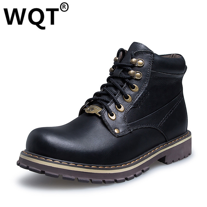 2016 Tactical font b Boots b font Outdoor Shoes Men Wearable Timber Chelsea Military Winter font