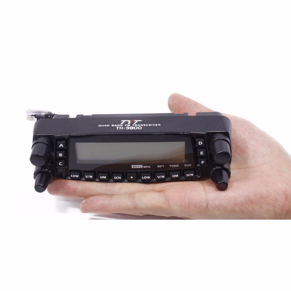 The Front panel of Qual Band Mobile Radio TYT TH 9800 Plus