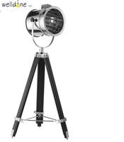 Modern Marine Signal Tripod Floor Lamp Living room Standing Lamp Abajur Photography Light Projector searchlight
