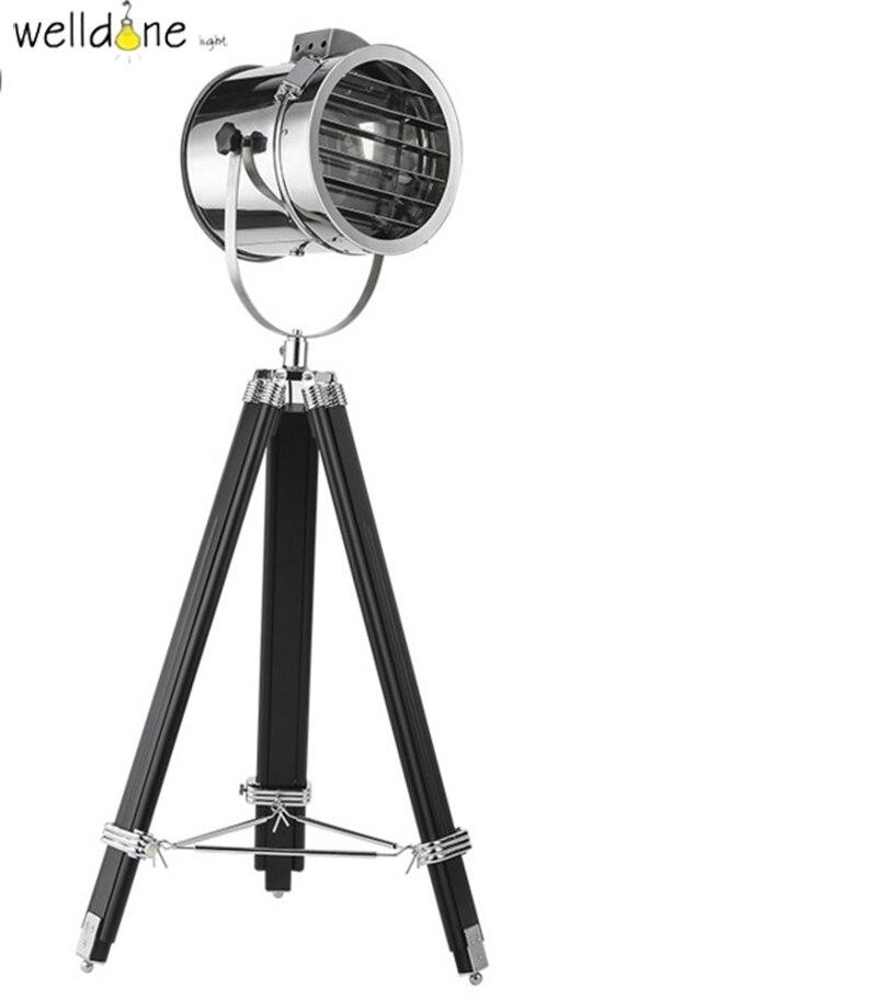 Moderne Marine Signal Stativ Stehlampe Wohnzimmer Abajur Fotografie Licht Projektor ScheinwerferChina