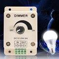 Caliente de alta calidad 12 V 8A 96 W PIR Sensor LED proteger de las lámparas de luz interruptor regulador del brillo ajustable