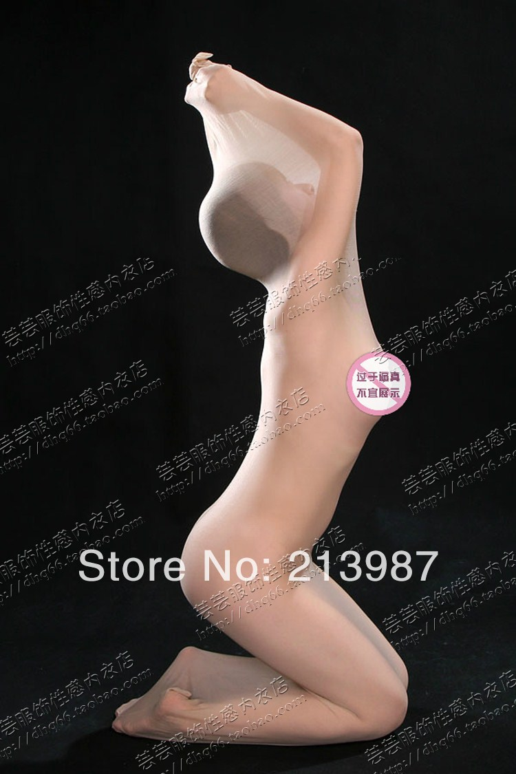 ab3cc2808d Ultra thin transparent full body stockings couples tight fitting coveralls  socks sexy perspective tights sleeping socks bag on Aliexpress.com