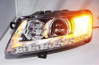 2 шт. бампер лампа для 2 шт. фары A6L 2005 ~ 2011 Автомобильные аксессуары, a6l огни автомобиля светодиодный Габаритные огни