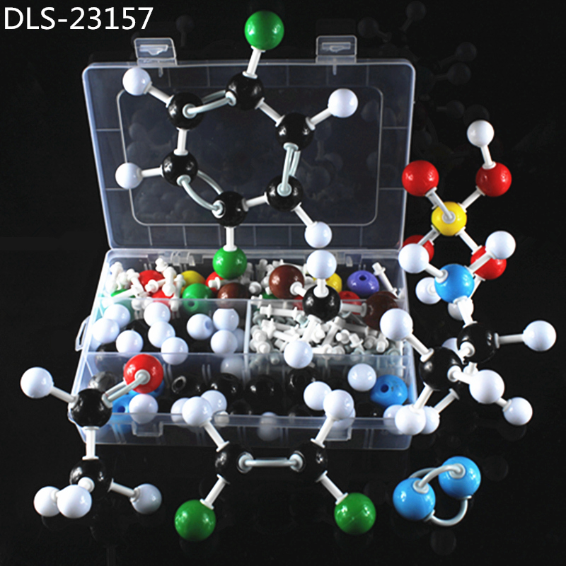 molecular model set DLS-23157 chemistry inorganic organic molecular structure models kit for chemistry teacher student molecule