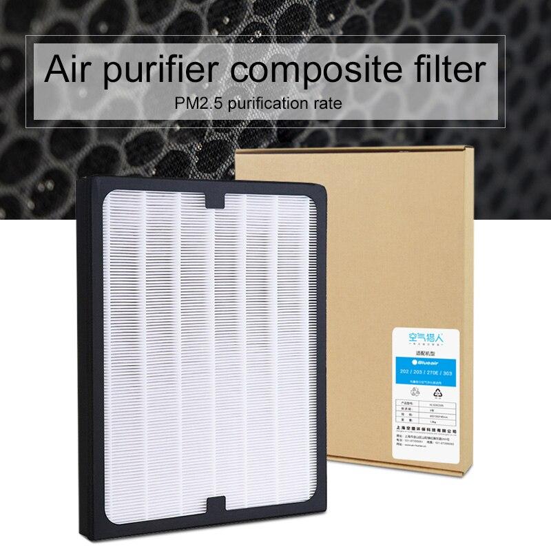 Современные HEPA элемент фильтра фильтрующий элемент Воздухоочистители Запчасти пыли пассивного офисные PM2.5 замены фильтра Indoor