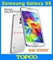 """Оригинальный Samsung Galaxy S5 открынный GSM 3 г и 4 г андроид мобильный телефон SM-G900F G900H Quad 5.1 """" 16MP WIFI GPS 16 ГБ прямая поставка"""