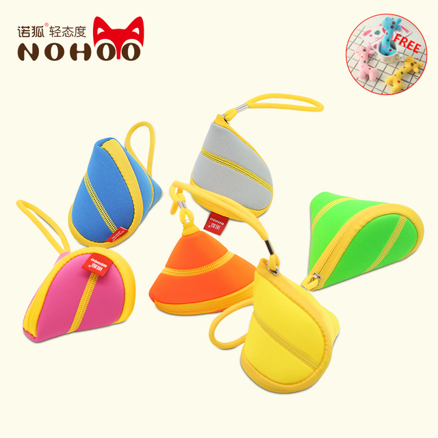 NOHOO 3D kids mini Wallets small Coin Purse money bag soy luna purse stitch lilo hello kitty paris purses monedero small bag vs