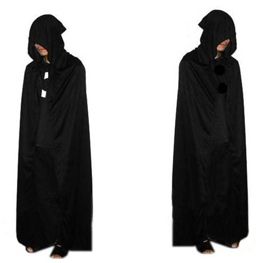 2016 Hot Sale Halloween Party Costume Death Cloak Cosplay Ghost Clothes Multi Cape Hooded Cloaks For Adult Costumes Vampire Cape