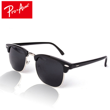 Pro Acme Classic Half Metal Sunglasses Men Women Brand Designer Mirror Sun Glasses Gafas Oculos De Sol UV400 Man Shades CC0462