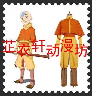 Avatar The last airbender Aang Cosplay Costume Custom Made /<lotahk/>