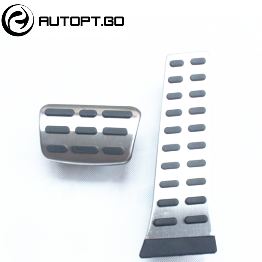 NO DRILL Anti-Skid Car Gas Brake Foot Pedal Cover For KIA Sportage Sorento K4 K5 K3 K3S Hyundai IX35 Santa fe Tucson Sonata hyundai elantra соната ix35 k5 k3 чи работает cd хвост aux usb кабели