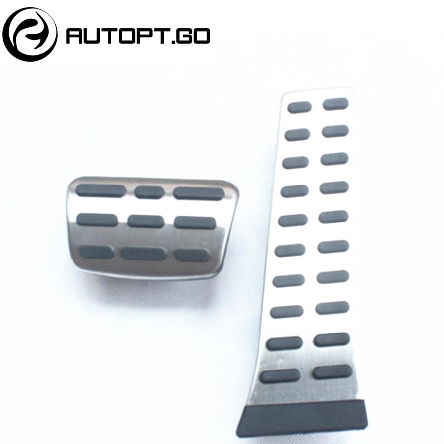 NO DRILL Anti-Skid Car Gas Brake Foot Pedal Pad Cover For KIA Sportage Sorento K4 K5 K3 K3S Hyundai IX35 Santafe Sonata MISTRA hyundai elantra соната ix35 k5 k3 чи работает cd хвост aux usb кабели