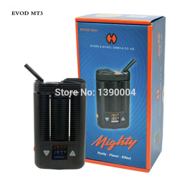 EVOD MT3 Mighty v3 Dry herb vaporizer battery powered herbal