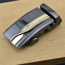 Для мужчин, автоматическая пряжка ремня дизайнерское, высокого качества сплав Материал подходит натуральная кожа Корпус Ширина 3,5 см