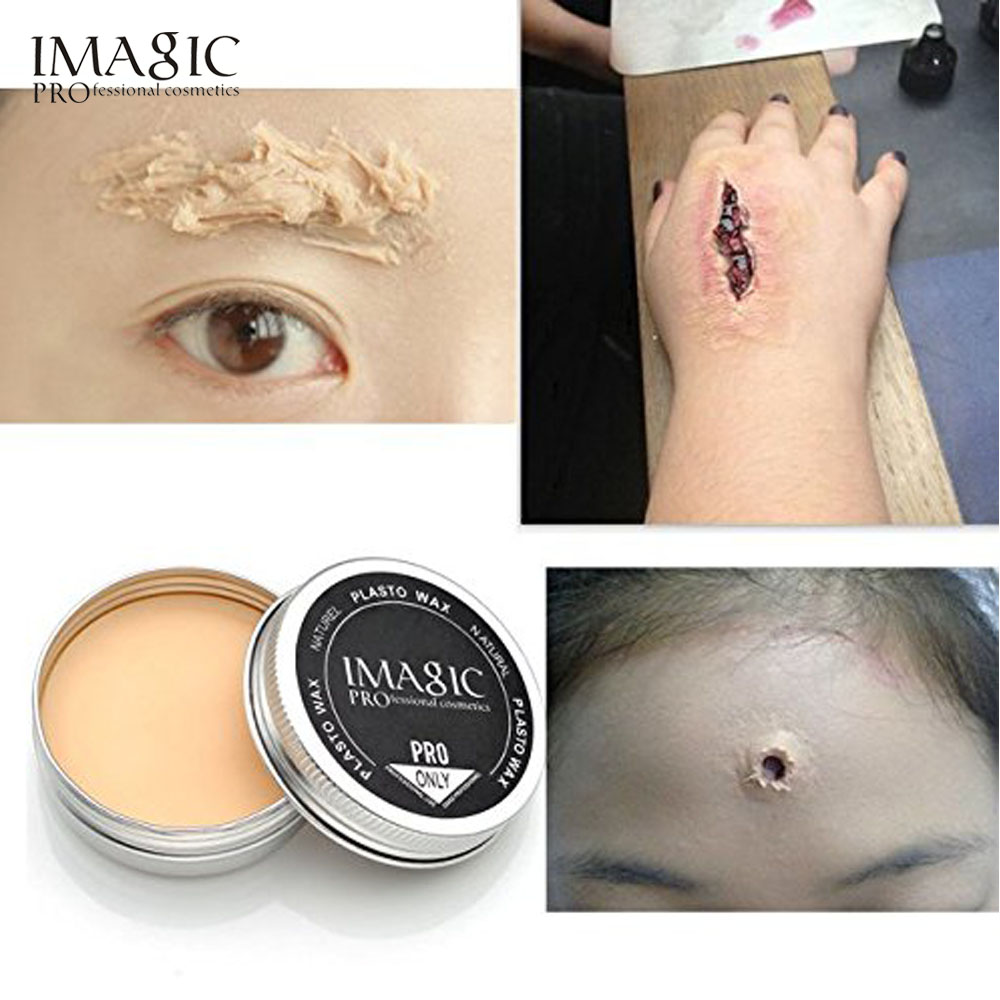 special effects stage makeup halloween party fake wound scars wax spatula tool 2pc - Halloween Fake Wounds