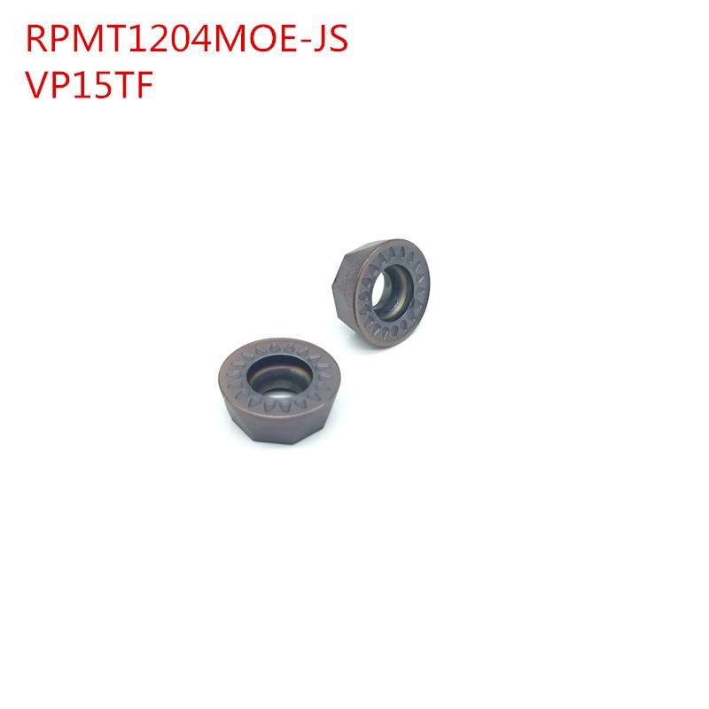 RPMT 1204 MOE JS VP15TF 50PCS carbide milling inserts indexable end milling cutter machine face milling cutting tool RPMT1204  цены
