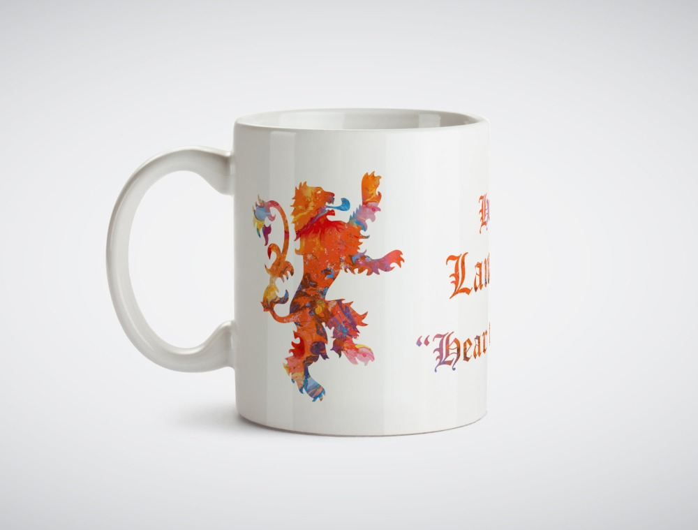 Game of thrones House Lannister mug Kitchen Decor ceramic home decal owl mugen beer milk tea porcelain coffee mug mugen