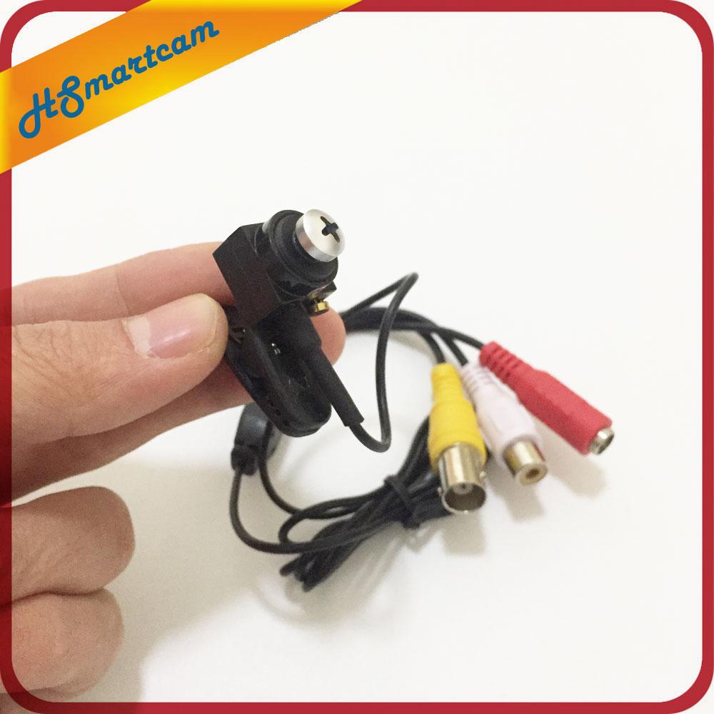 CCTV AHD HD Pinhole 3 7mm Lens 720P MINI AHD Cam micro AHD Camera Microphone Audio