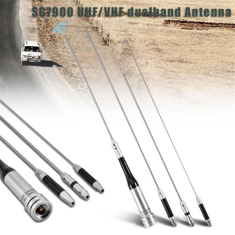 U/V de Dualband Antena de SG7900 antena móvil 144/430 Mhz SG-7900 de dBi coche antena de radio fuerte señal Base de antena
