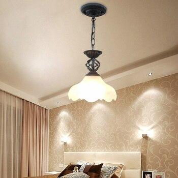 개인화 된 크리 에이 티브 현대 샹들리에 램프 랜턴 패션 철 샹들리에 라이트 바 입구