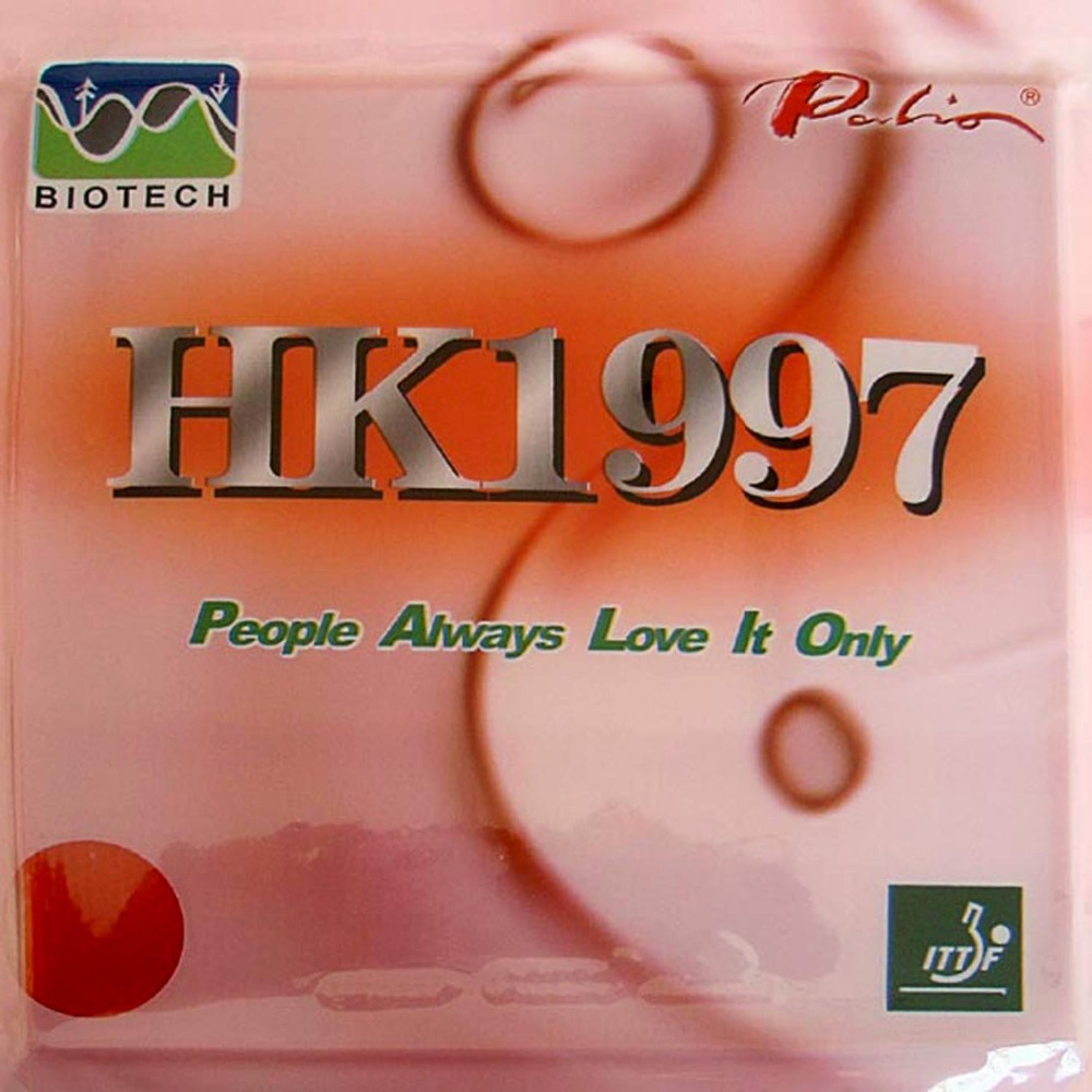 Schlägersportarten Palio Hk1997 Biotech Pips-im Tischtennis Gummi Mit Schwamm H36-38 2,2mm