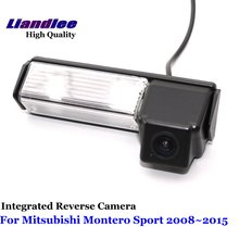 Liandlee For Mitsubishi Montero Sport 2008~2015 Car Reverse Camera Rear View Backup Parking Camera / Integrated High Quality liandlee car rear reverse camera for mitsubishi challenger 2008 2015 backup parking rear view camera integrated high quality
