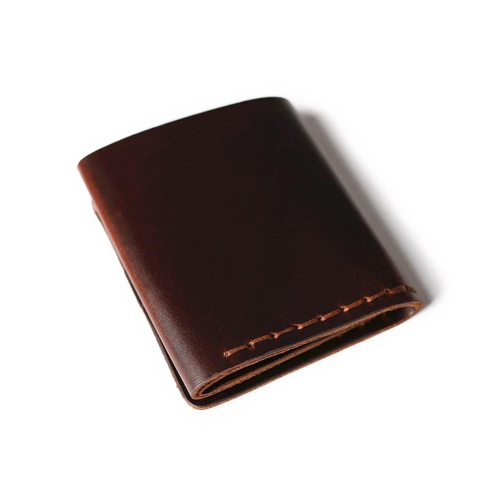 Äkta läder plånbok män Det hemliga livet av Walter Mitty Cow - Plånböcker - Foto 6