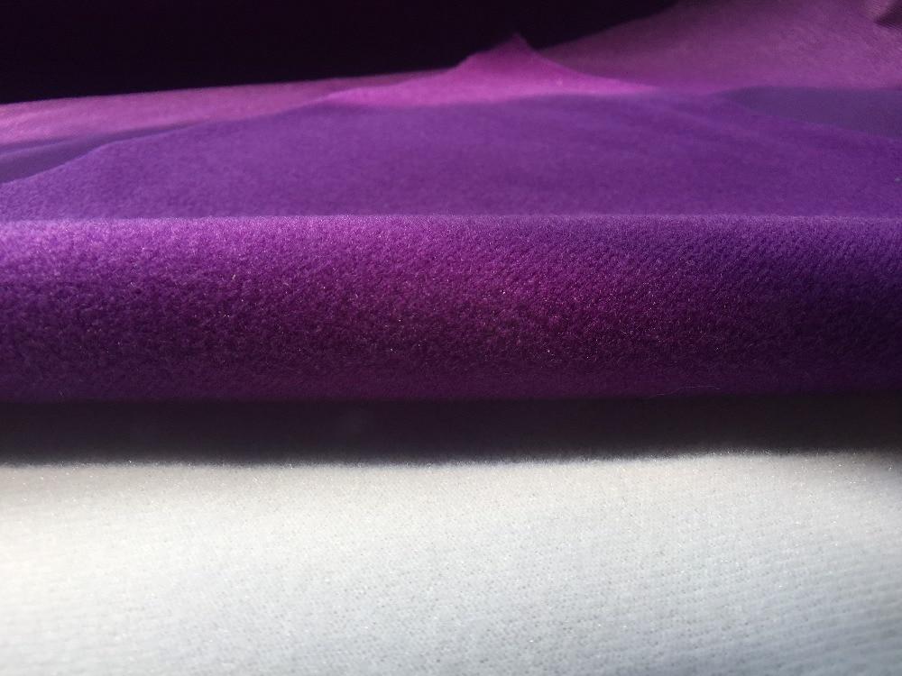 Pile Tessuto Vendita.Us 3 8 Vendita Calda 50x50 Cm Viola Scuro In Pile Tessuto Per Diy Cucito Peluche Divano Ordito A Maglia Spazzolato Tricot Anello Pianura Velboa