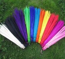 Großhandel 500 teile/los schöne fasan feder 16 18 zoll/40 45 cm in eine vielzahl von farbe können wählen