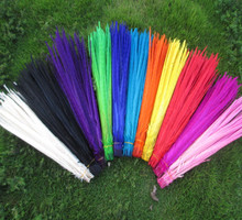 Venta al por mayor 500 unids/lote hermosa pluma de faisán 16 18 pulgadas/40 45 cm en una variedad de colores puede elegir
