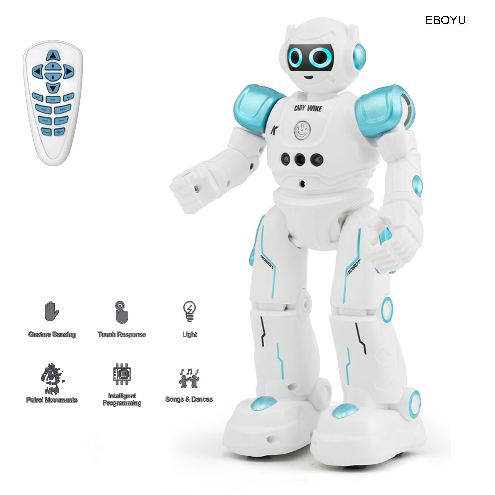 JJR/C JJRC R11 Cady Wike Intelligent RC Robot Remote Control Programmable Gesture Sensor Music Dance Toy for Kids