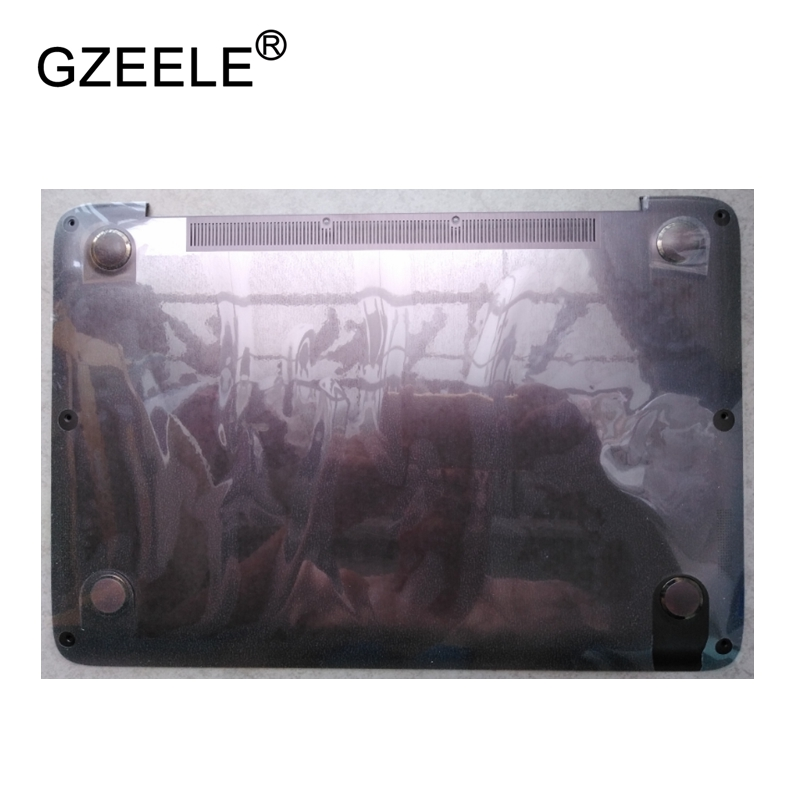 GZEELE New Laptop Bottom Base Case Cover for HP Spectre 13 13-3000 13-3010DX 13T Base Chassis D Case shell lower case gzeele new laptop bottom base case cover for toshiba for portege r930 r935 base chassis d case shell lower case black