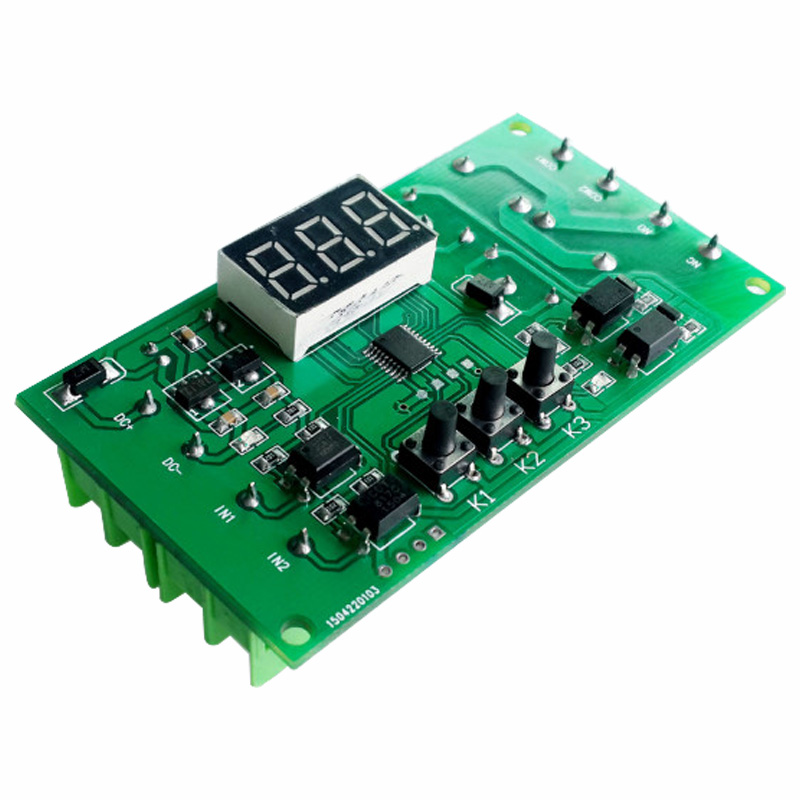 12v Motor CW/CCW/ Control Board / Driver Programmable Delay Timing Relay 12V DC