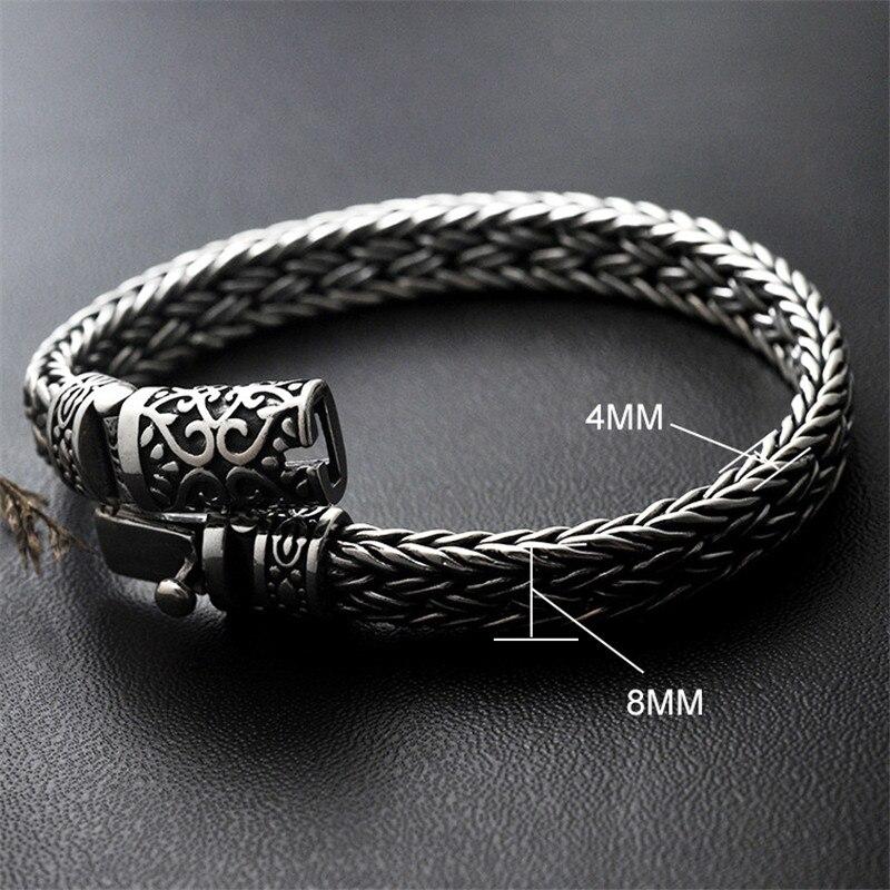 Statement AMBUSH Street Hip Hop Titanium Steel Watch Bracelet Cool Casual Men's Tide Fashion Bangle Jewelry For Party Gifts - 4