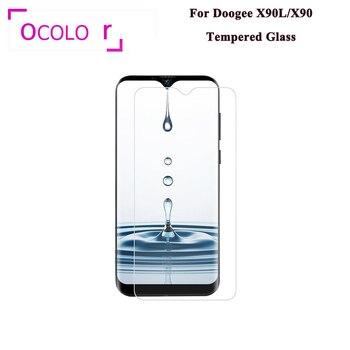 Перейти на Алиэкспресс и купить Ocolor Для Doogee X90, закаленное стекло, стальная пленка, защитная пленка, защита от царапин, ультра-тонкая Замена Для Doogee X90L пленка