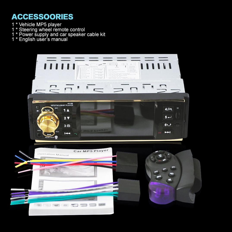 ビデオプレーヤーサポート FM 倉庫を洗う 入力ハンズフリー通話をサポート 9