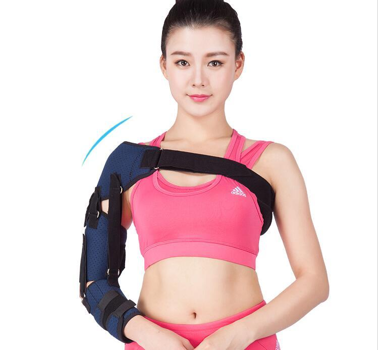 Medical dislocated pad shoulder subluxation joint holder fixed straps stroke hemiplegia rehabilitation brace