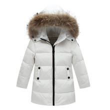Girls winter coats winter jackets boys clothes warm children's winter jackets fashion kids down parka cotton children's Outwear