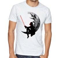 Men 2017 Summer Fashion Star Wars Yoda Darth Vader Unique Masculine Streetwear Cotton T Shirt Man