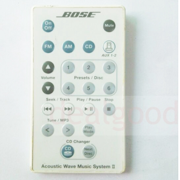 US $12 98 |White Remote Control for Bose Acoustic Wave Music System II  297499 001-in Remote Controls from Consumer Electronics on Aliexpress com |