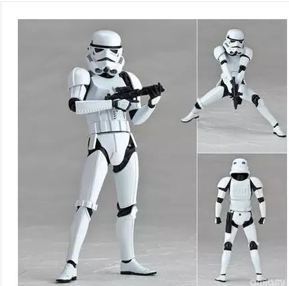 Cartoon toy mountain pass type Star Wars The storm commandos White pawns PVC can begin to do model furnishing articles zy086