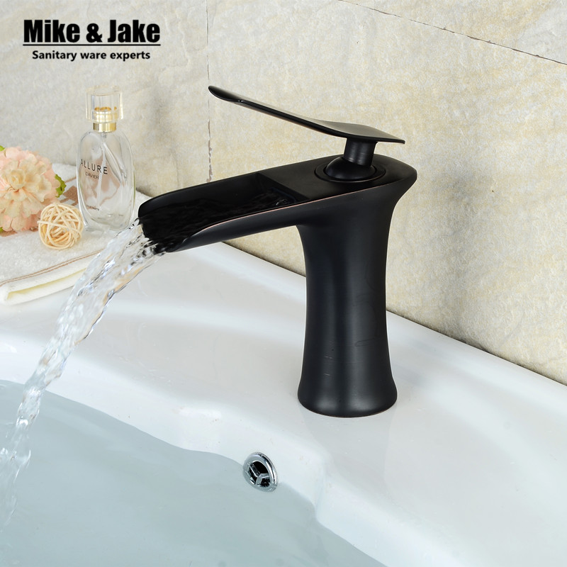 Free shipping Chrome crane and white Finish Waterfall cock Bathroom Faucet Bathroom Basin Mixer Tap with Hot and Cold Water Free shipping Chrome crane and white Finish Waterfall cock Bathroom Faucet Bathroom Basin Mixer Tap with Hot and Cold Water