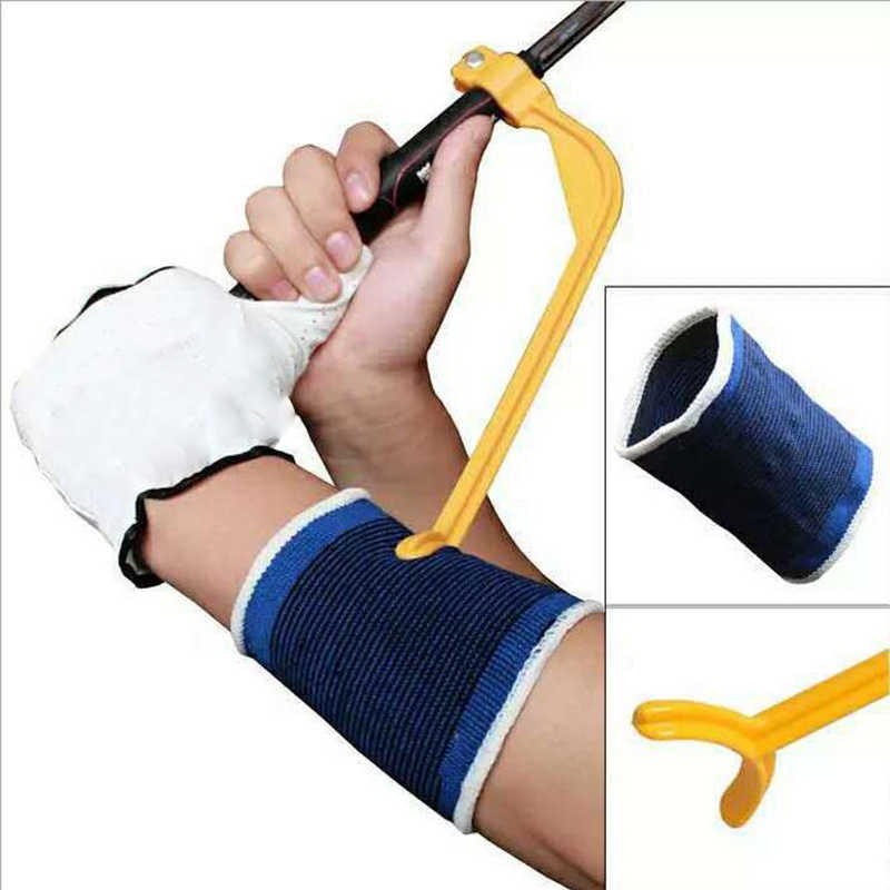 Praktische Beoefenen Gids Golf Swing Trainer Beginner Gebaar Alignment Training Aid Aids Juiste Hot Verkoop Swing Trainer