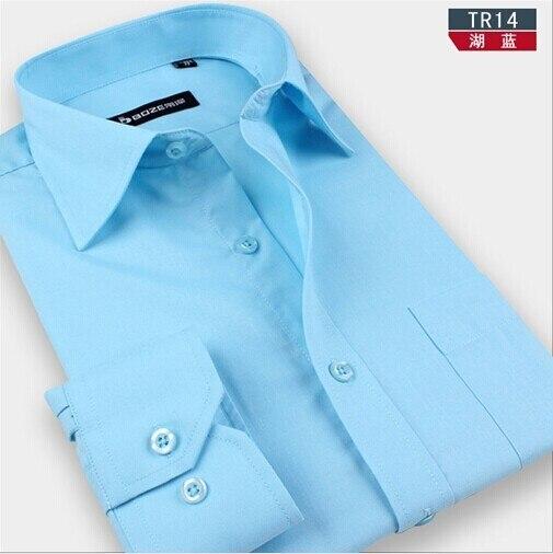 Китай Импортировал Эксклюзивная Модная мужская высокое качество рубашки с длинным рукавом бизнес социальная платье случайно slim fit случайные рубашки 5XL