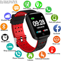 BANGWEI  новинка 2019  умные водонепроницаемые часы  фитнес-трекер  пульсометр  сфигмоманометр  электронные часы  спортивные часы для Android IOS