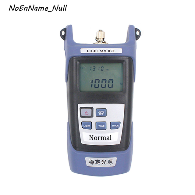 Handheld Stable light source Emitted optical signal Fiber Optic Equipment FTTH Fiber Optical Cable Tester Fibre optic tool