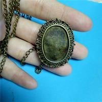 Vintage Retro Quartz Pocket Watch With Sweater Necklace Chain For Women Ladies