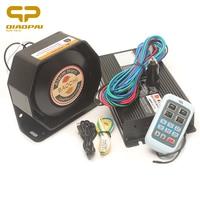 Wireless Remote Control Truck Horn 12V 400W Super Loud Car Horn Warning Alarm Megaphone Propaganda Multi tone Claxon Horns siren